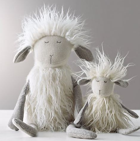 Wooly Plush Lamb