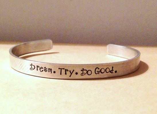 Boy Meets World Do Good Bracelet from Stamp Amour | The Mindful Shopper