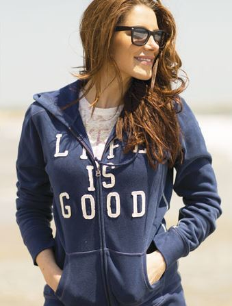 Life Is Good Hoodie | The Mindful Shopper