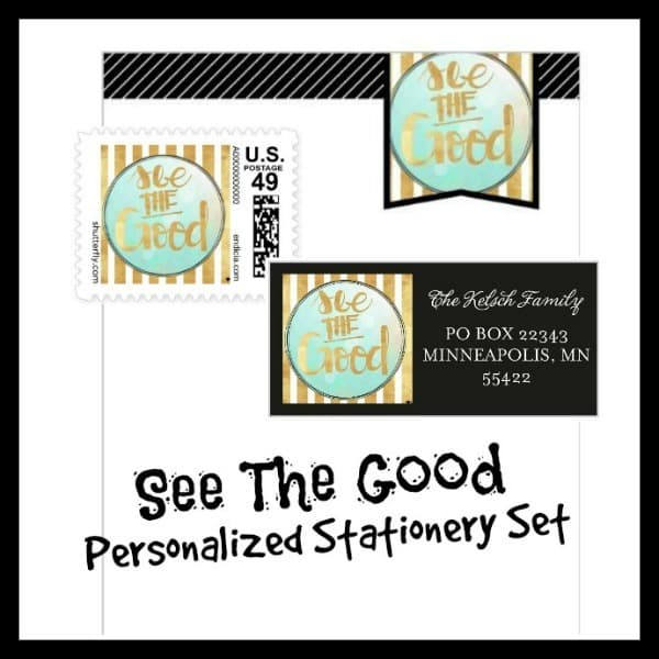See The Good Personalized Stationery Set | The Mindful Shopper