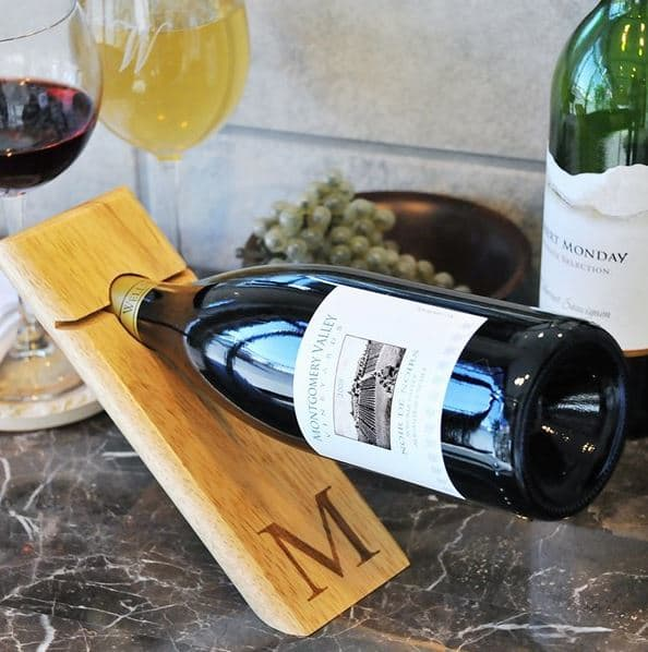 Counter Balance Wine Bottle Holder | Unique Gifts for Wine Lovers