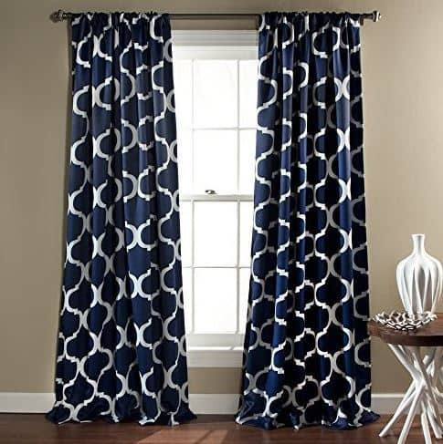 Geo Blackout Window Curtains from Lush Decor