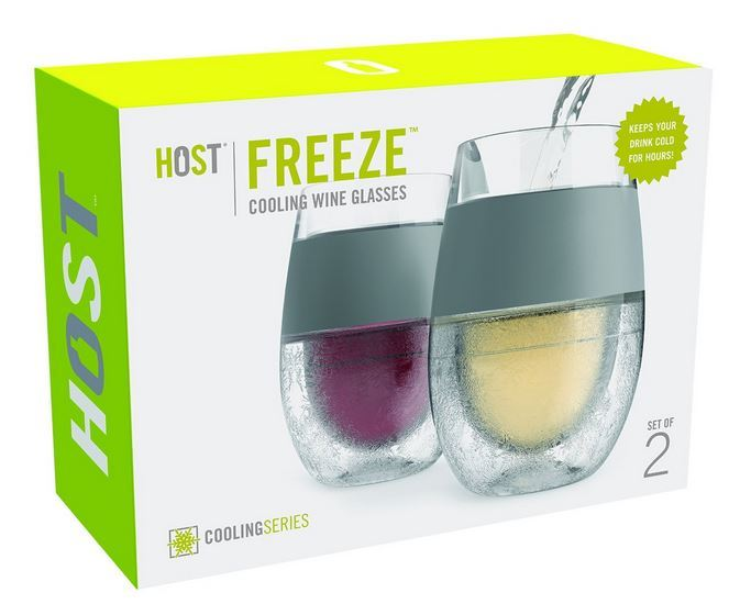 HOST Freeze Cooling Wine Glasses