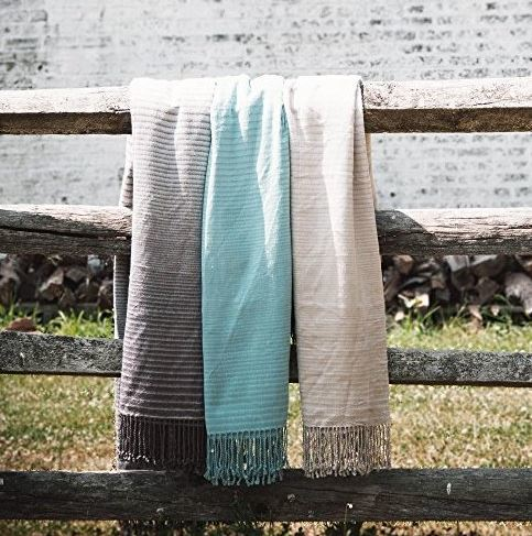 Lori Bamboo Fiber Throws from Lush Decor