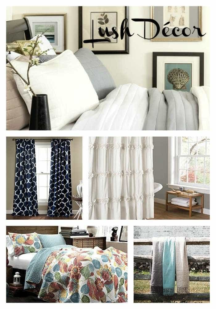 Affordable Home Decor at Lush Decor | #BedAndBath, #Bedding, #Curtains, #HomeDecor
