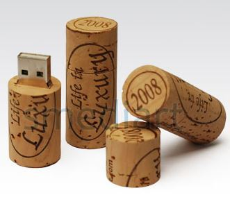 USB Wine Cork