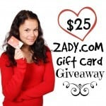 The $25 ZADY Gift Card Giveaway Rules