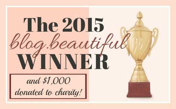 The Mindful Shopper is the Blogelina blog.beautiful Award Winner
