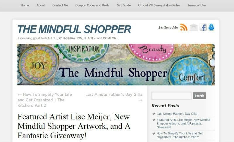 The Mindful Shopper April 2013