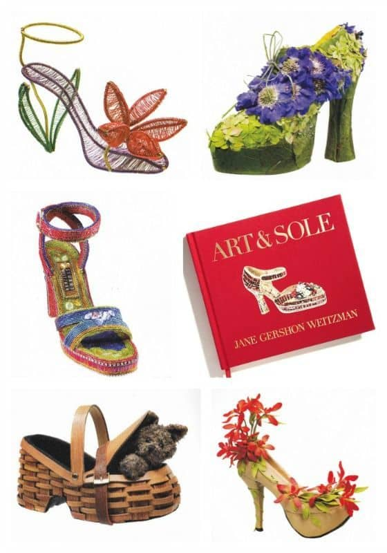 Art & Sole is a timeless treasure for any shoe lover, fashionista, or art aficionado. Take a moment and step into a beautiful fantasy world as I interview Author Jane Gershon Weitzman about her lovely book.