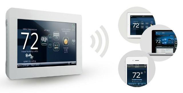 Lennox iComfort WiFi Thermostat | High Tech HVAC System