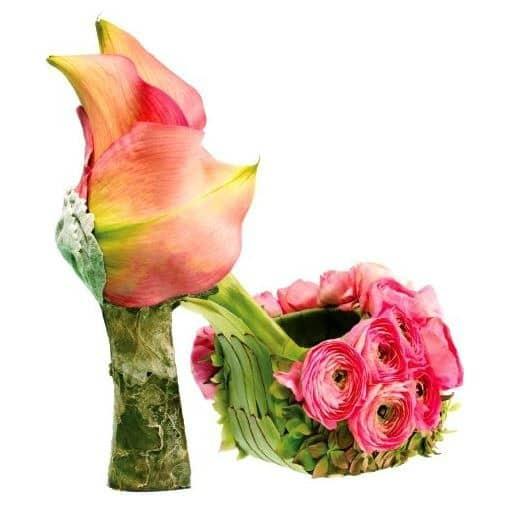 Petal Pusher Fantasy Shoe by Artist Jane Carroll | Featured in Jane Gershon Weitzman's book Art & Sole