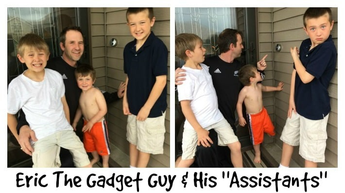 Eric The Gadget Guy and His Three Assistants
