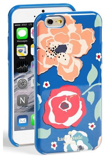 Kate Spade April Floral Print iPhone 6 Case