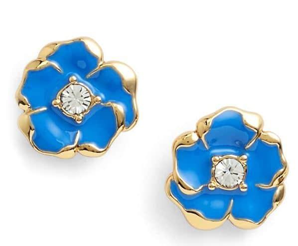 Kate Spade Beach House Bouquet Flower Stud Earrings