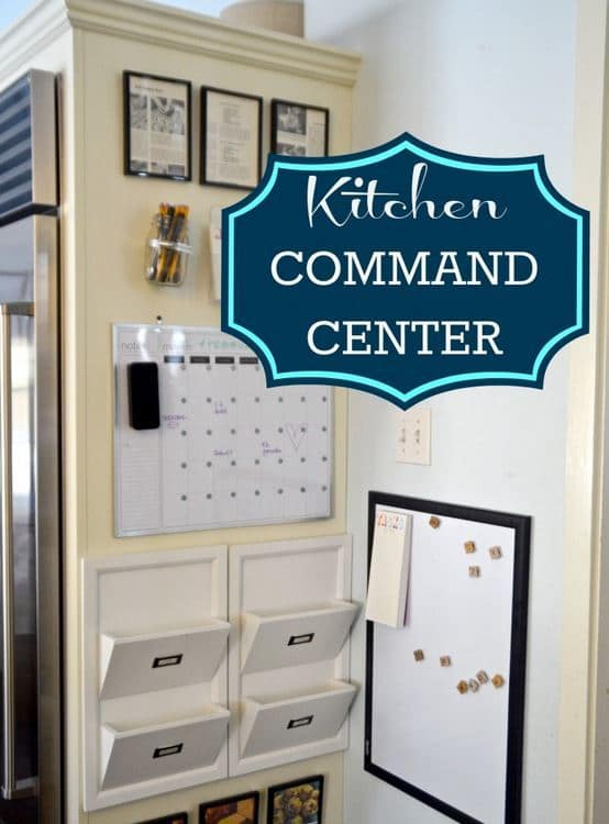 Kitchen Command Center from Ciburbanity | Create The Perfect Kitchen Family Command Center