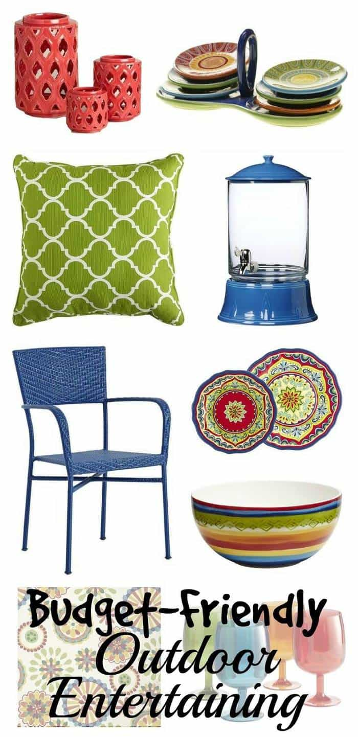 Outdoor Entertaining On A Budget | The Mindful Shopper