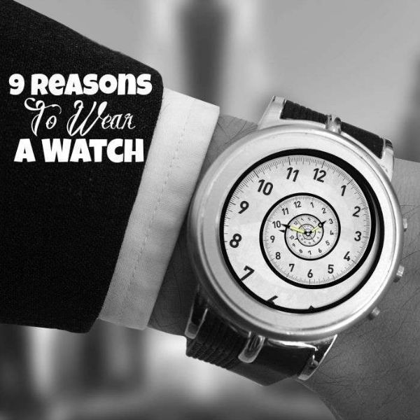 9 Reasons To Wear A Watch | The Mindful Shopper Blog | #Fashion #Shopping