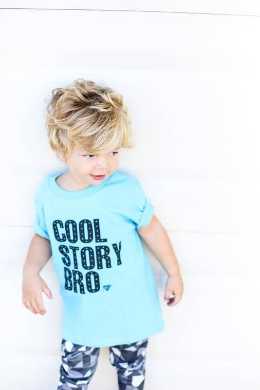 Cool Story Bro Tee | Clothing For Kids That Gives Back To Charity