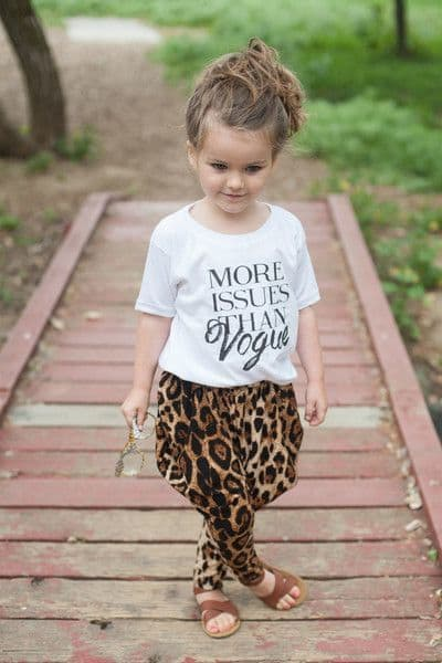 More Issues Than Vogue Tee | Clothing For Kids That Gives Back To Charity
