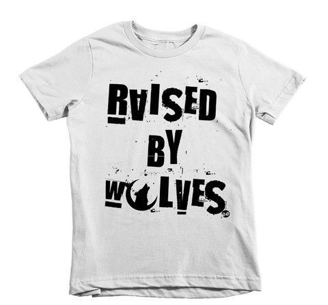 Raised by Wolves Kids Tee