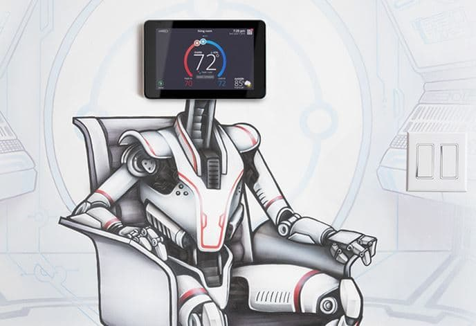 iComfort S30 Thermostat Robot Created by A'Shop