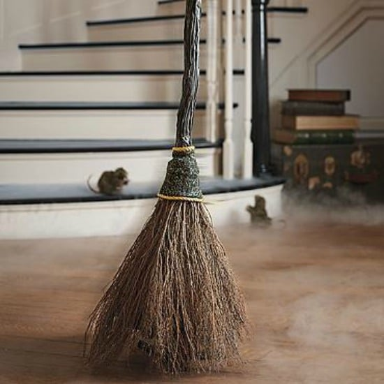 Animated Sweeping Broom