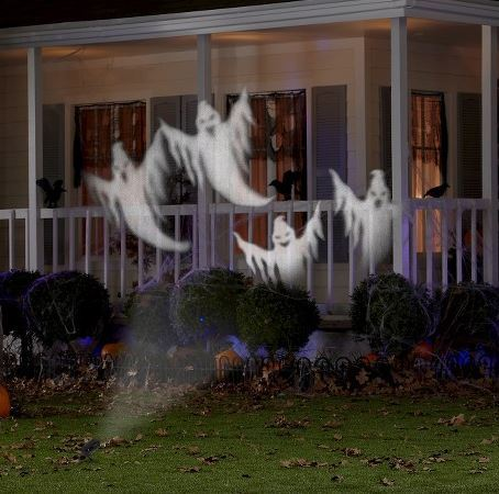 Halloween Chasing Ghosts Projector Light