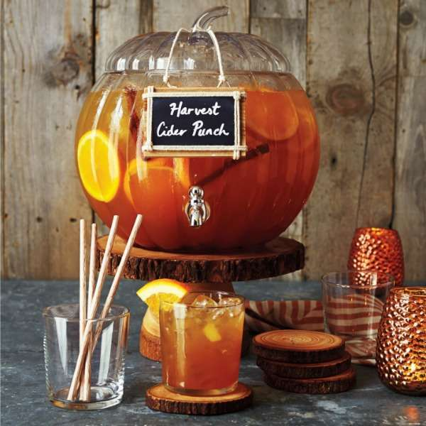 Pumpkin Beverage Dispenser | Must-Haves For Hosting A Spooktacular Halloween Party
