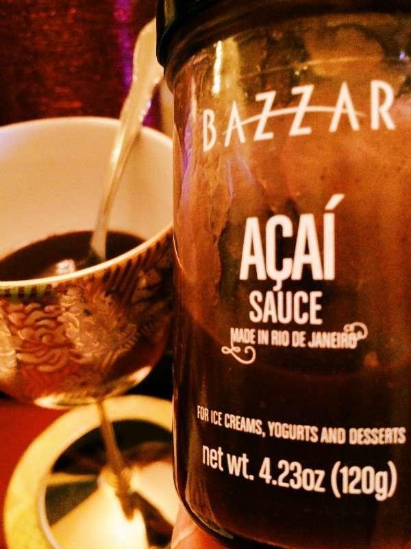 Acai Dessert Sauce from Bazzar in Brazil