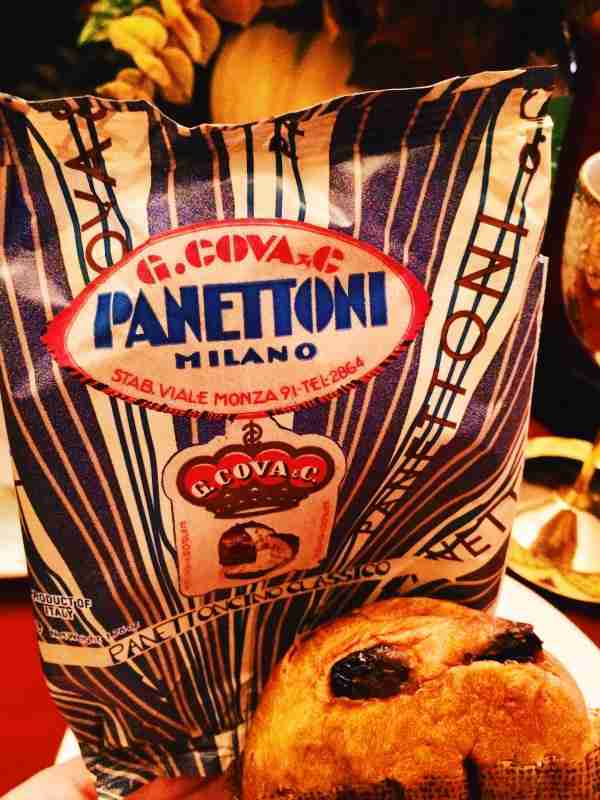 Panettone Milano Sweet Bread from G. Cova & C. in Italy | Try The World Special Edition Holiday Box