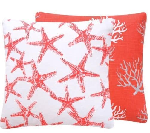Reversible Decorative Pillow Cover ($24)
