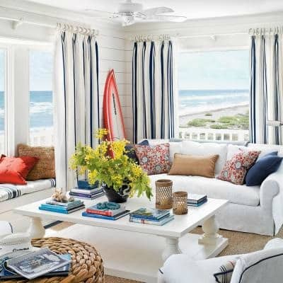 Coastal Living Photo Annie Schlechter | Transform Your Home Into A Relaxing Seaside Getaway