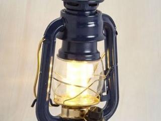 Dark Blue LED Lantern