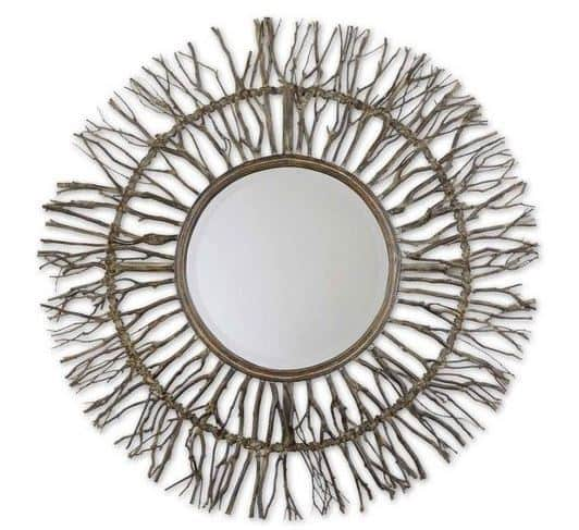 Josiah Natural Wood Mirror