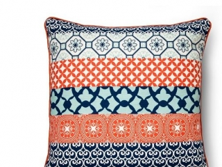 Oversized Global Stripe PIllow