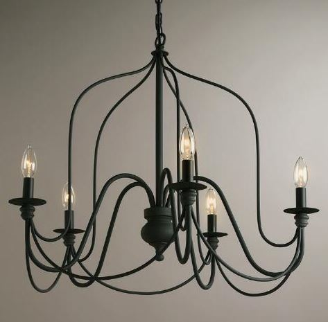 Rustic Wire Chandelier
