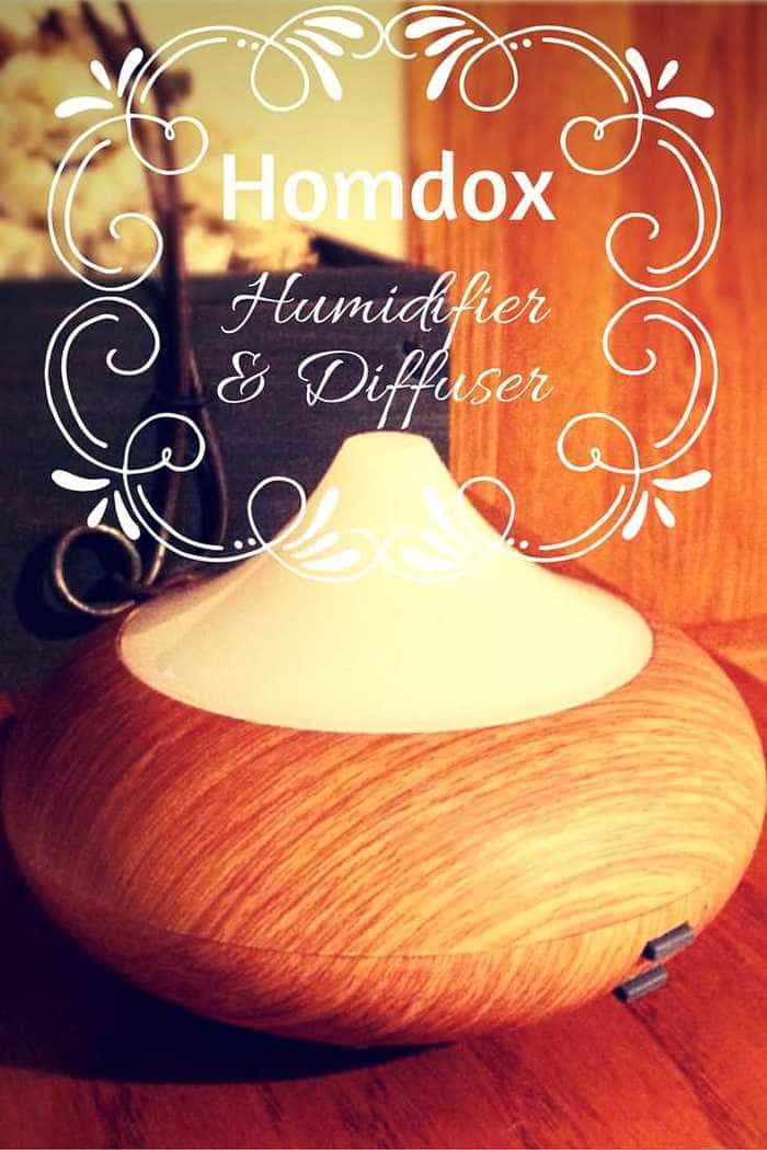 Homdox Ultrasonic Cool Mist Humidifier and Diffuser Review