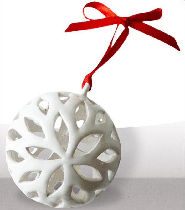 Christmas Ornament Earthenware