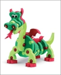 Dragons & Reptiles Construction Toy