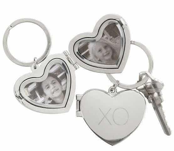 Heart Locket Key Fob