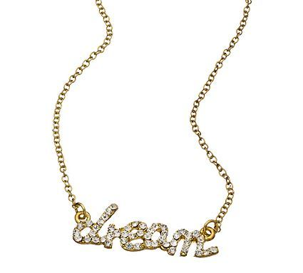 Dream Word Necklace