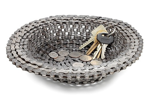 Handmade Bike Chain Bowl- Ecofriendly