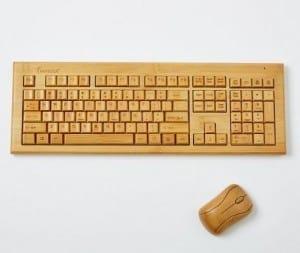Bamboo Wireless Keyboard + Mouse