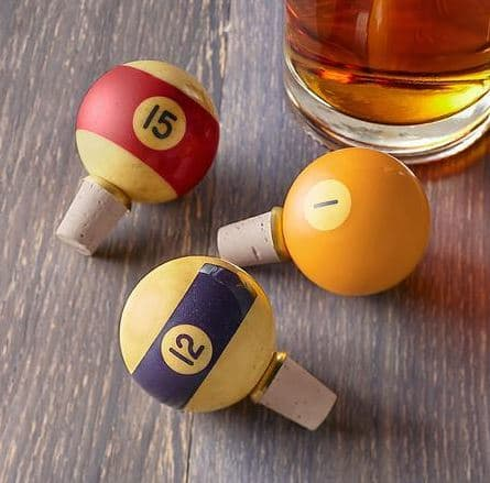 Billiard Bottle Stopper