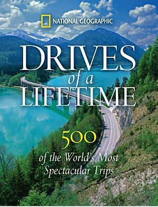 Drives of a Lifetime Hardcover Book | Gifts For Guys