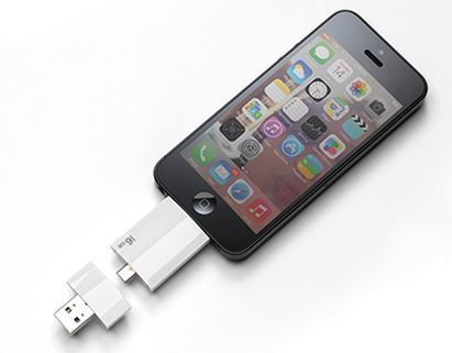 External Storage Drive for Smartphones and Tablets