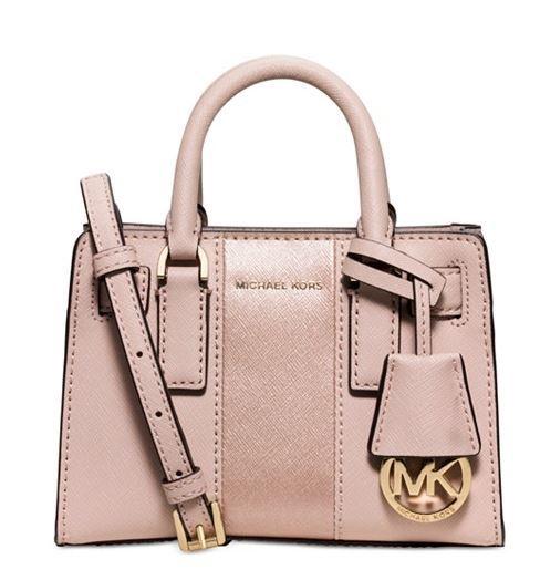 Michael Kors Dillon Stripe Mini Crossbody Bag
