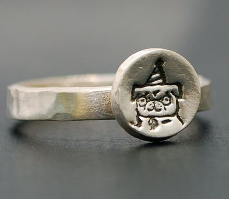 Party Pug Ring