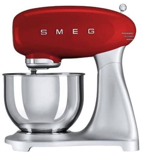 SMEG 5-Quart Red Stand Mixer